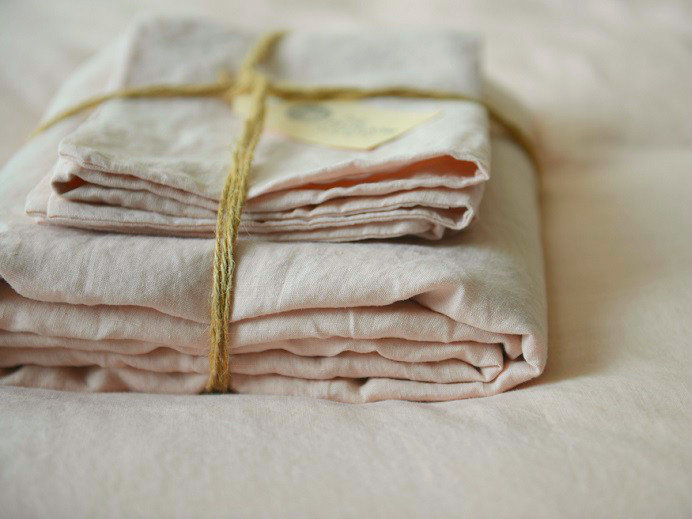 **GIFTED** French Linen Blush Pillow Case $34.95