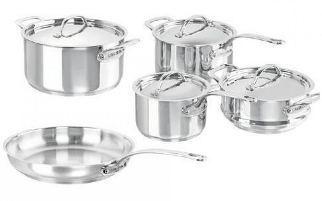 **GIFTED** Chasseur Maison 5 Piece Cookware Set $285