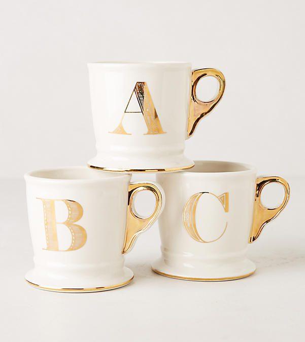 **GIFTED** Monogram C & L Mug Set of Two $35