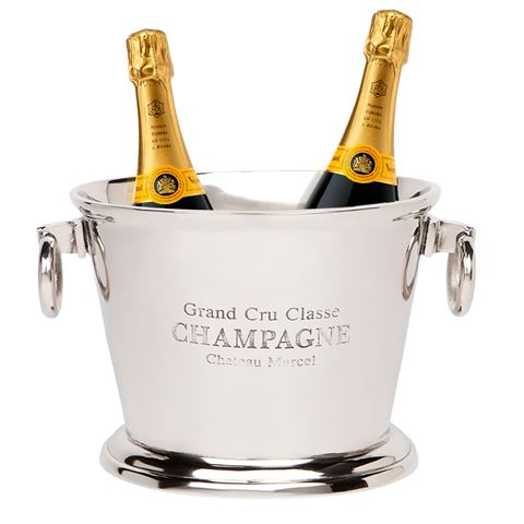 Cafe Society Chateau Champagne Bucket