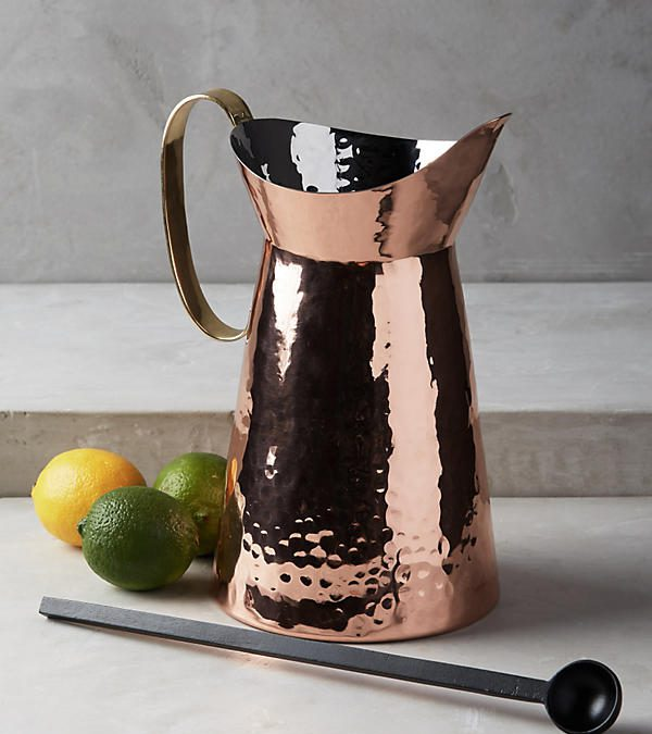 **GIFTED** Hammered Pitcher & Spoon Set $115