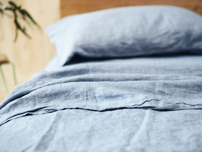 **GIFTED** French Linen Chambray Sheet Set $359